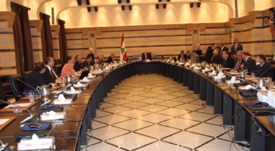 Lebanon cabinet meeting