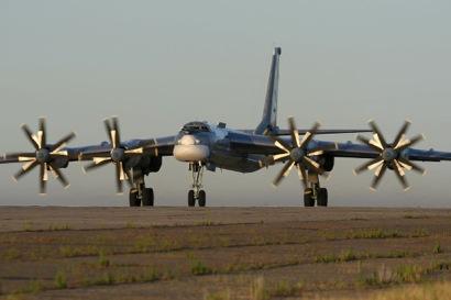 Russian Tupolev Tu-95  Nuclear bomber