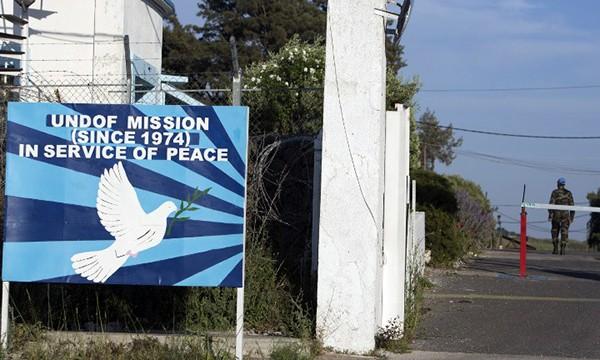 UNDOF mission- golan