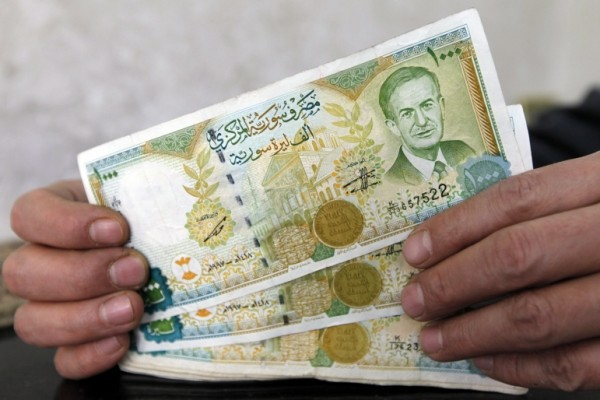 syrian currency