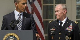 President Barack Obama and Gen. Martin Dempsey, the chairman of the Joint Chiefs of Staff