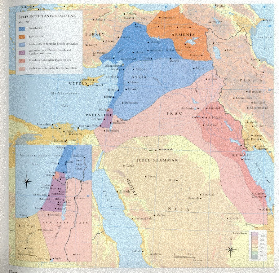 Sykes-Picot Agreement 2