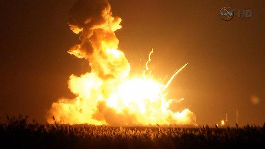 Antares rocket exploded