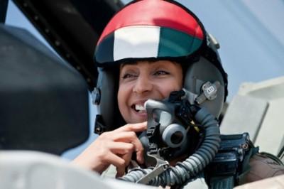 Mariam Hassan Salem Al-Mansouri UAE pilot