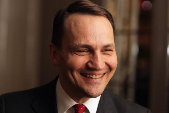 Radoslaw Sikorski Polish Parliament speaker and Ex Foreign Minister