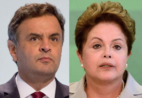 Rousseff - Neves