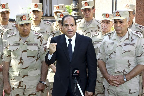 SISI egyptian president