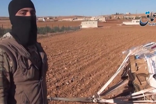 american weapons in ISIS hand 2