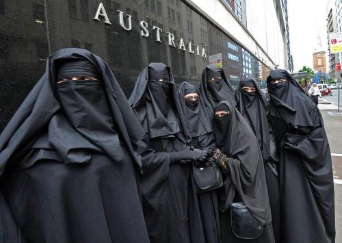 burqa wearers australia