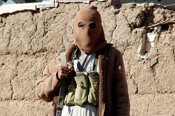 Masked Yemeni houthi rebel . Yemeni President Abed Rabbu Mansour Hadi had repeatedly accused Iran and Hezbollah of aiding and training the Houthi rebels