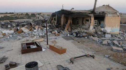 syria damaged school