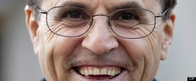 Hassan Diab of Ottawa smiles while leaving court in Ottawa on Monday, November 8, 2010. Diab is a sociology professor facing extradition to France in a 30-year-old terrorist bombing case. THE CANADIAN PRESS/Pawel Dwulit