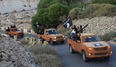 The Islamic State in Iraq and Syria (ISIS) has seized control of Derna, a port city in eastern Libya just about 200 miles east of the Egyptian border.