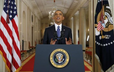 U.S. President Obama announces executive actions on immigration during nationally televised address from the White House in Washington