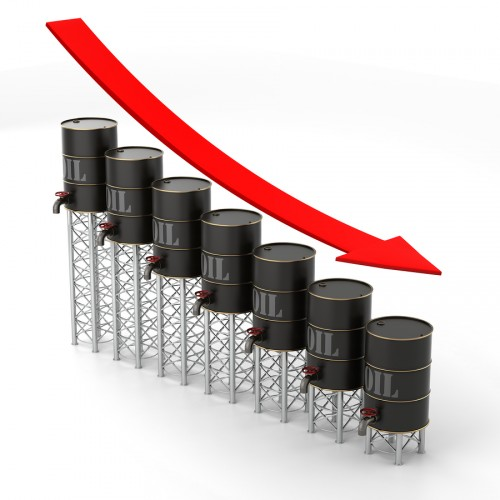 oil prices falling