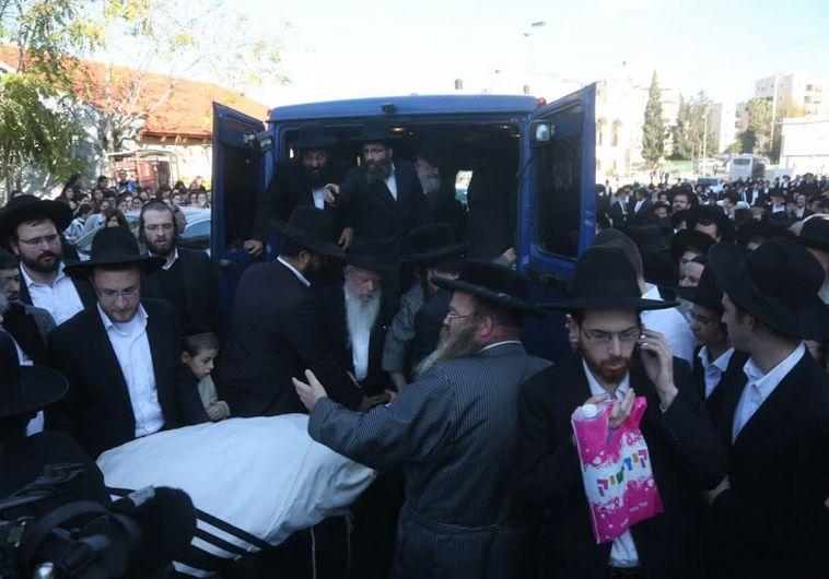 Funeral of   Israeli - American  rabbi Moshe Twersky. Three of the  victims are Israeli-American rabbis