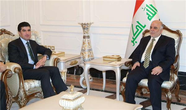 Nechirvan Barzani, the Kurdish region's prime minister, alluded to the tensions of the Maliki era and praised  new  PM Mr. Abadi.