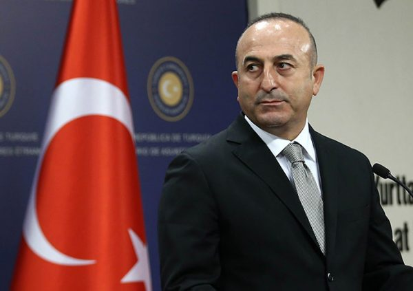 Turkish FM Mevlut Cavusoglu