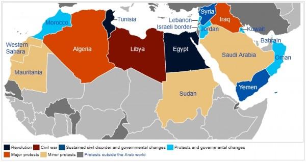 2014: How Arab Spring countries fared