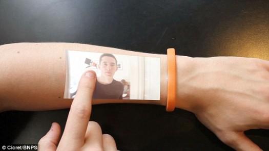 bracelet  ARM  touchscreen 1