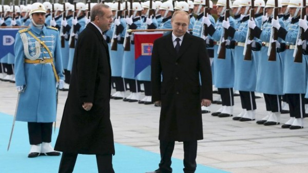 putin in Turkey