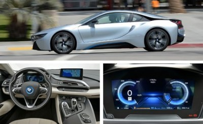 The BMW i3 and i8 (pictured above) received numerous awards in 2014. The BMW i8 sells for over $135,000.