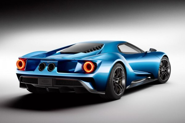 Ford Stole The Detroit Motor Show Limelight With An All New Ford Gt Supercar