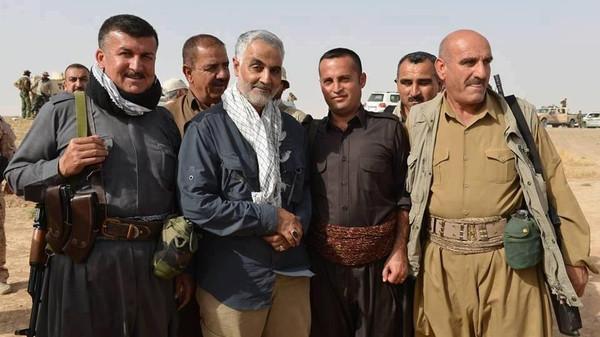 sulieman with shiite militias in iraq