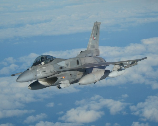 UAE sends F-16s to jordan