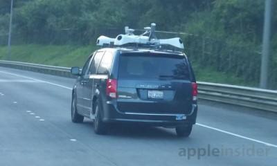 One of Apple's sensor-laden vans, spotted in Hawaii by AppleInsider reader matthawaii.