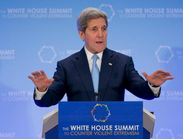Secretary of State John Kerry said Thursday that the U.S. must understand what drives people to the Islamic State, echoing a similar warning from Glenn Beck this week. AP Photo/Pablo Martinez Monsivais