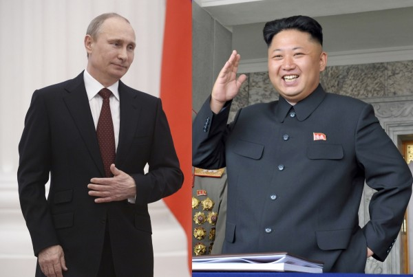 Kim Jong Un - Putin