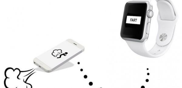 fart app apple watch