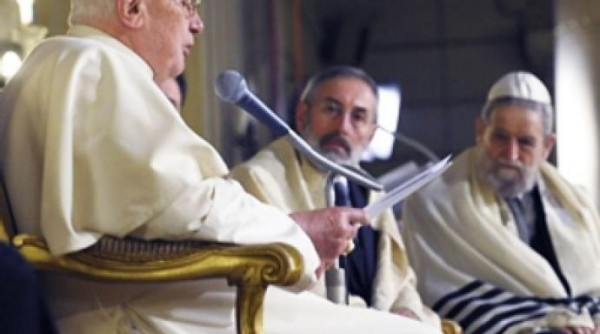 """The Holy Scriptures cannot be used to justify the return of Jews to Israel and the displacement of the Palestinians,"" Greek-Melchite Archbishop Cyrille Bustros said at the close of a two-week conference in Rome, Italy, ""to justify the occupation by Israel of Palestinian lands."""