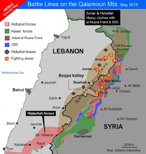 SyriaLebanon qalamoun battle