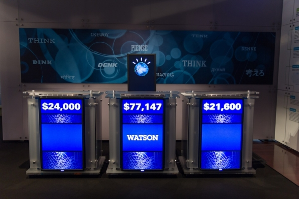 IBM developed a new system for its Watson supercomputer that is helping researchers target proteins that cause cancer. The computer found six new proteins in only a month to help fight cancer.