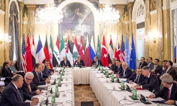 SYRIA TLAKS IN VIENNA
