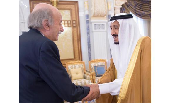 king salam , jumblatt