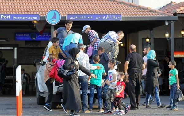 tripoli port syrian refugees