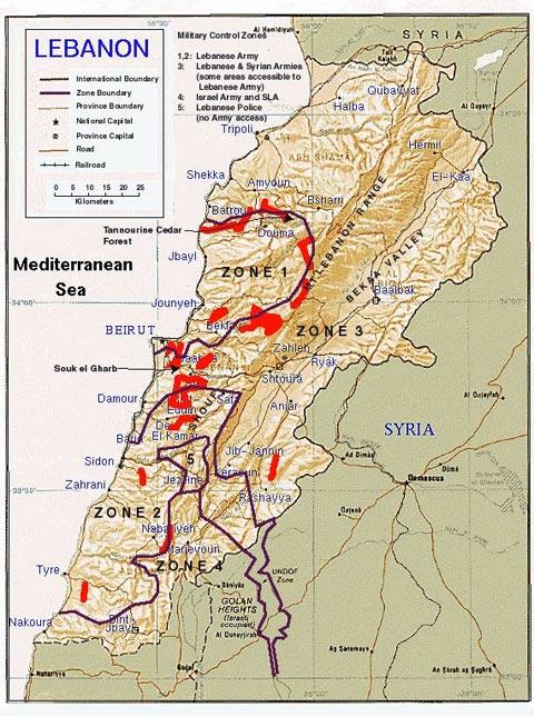 Former Us Ambassador To Lebanon Jeffrey Feltman Estimated In 2004 That Containing Some Estimates