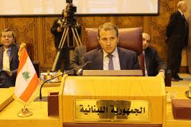 bassil  at arab league
