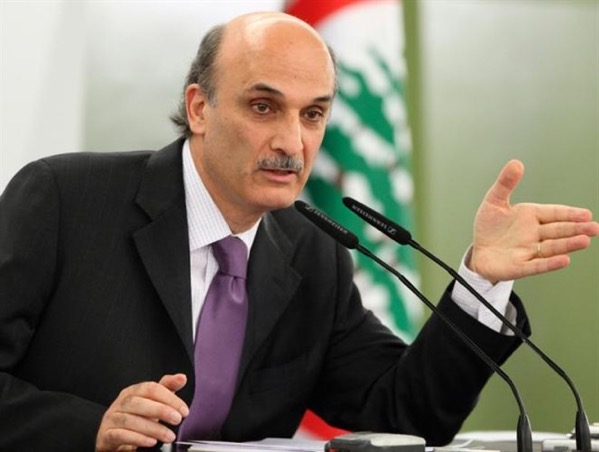geagea on MTV