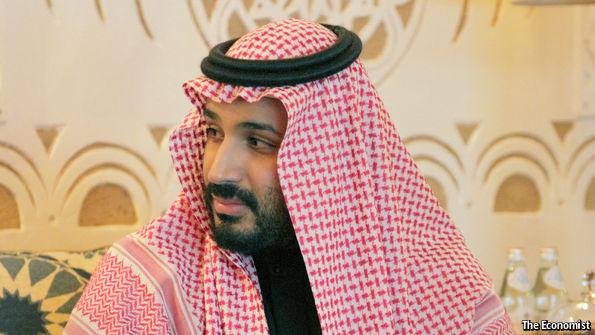 Mohammad Bin Salman, son of King Salman of Saudi Arabia and  the Deputy Crown Prince,