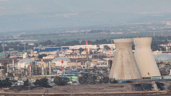 Haifa industrial area