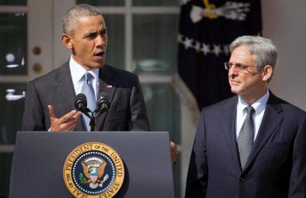 President Obama nominated Merrick Garland to serve on the Supreme Court, setting up a protracted political fight with Republicans who have vowed to block any candidate picked by Obama in his final year in office.