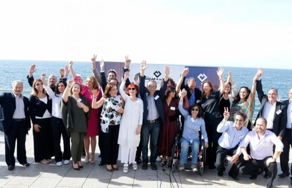 Beirut Madinati, a consortium of technocrats, activists, and artists, which challenged PM Hariri in Beirut's municipal elections. Half of the candidates are women.