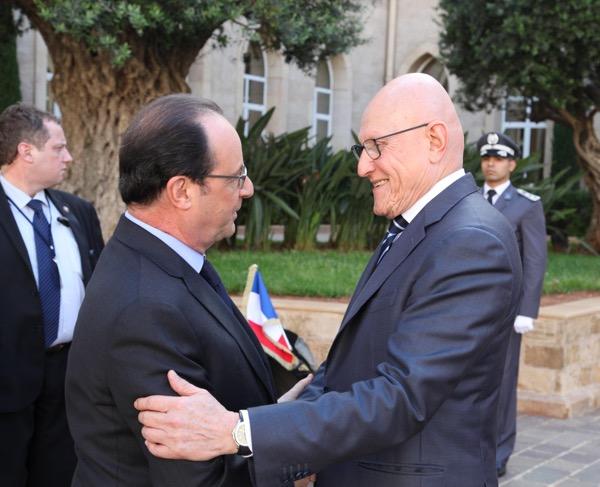 Francois Hollande  salam