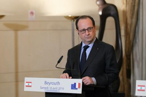 French President Francois Hollande is show during his visit to Lebanon in April 20116. His visit to Lebanon was aimed at paving the way for an international agreement to resolve Lebanon's presidential crisis