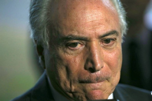 Lebanese Brazilian  Michel Temer is moving closer to become the Brazilian president