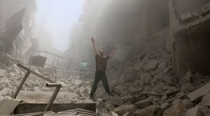 A Syrian hospital backed by Médecins Sans Frontières and the International Committee of the Red Cross (ICRC) has been destroyed in an airstrike in Aleppo, killing patients and doctors including one of the last paediatricians remaining in the rebel-held part of the city.